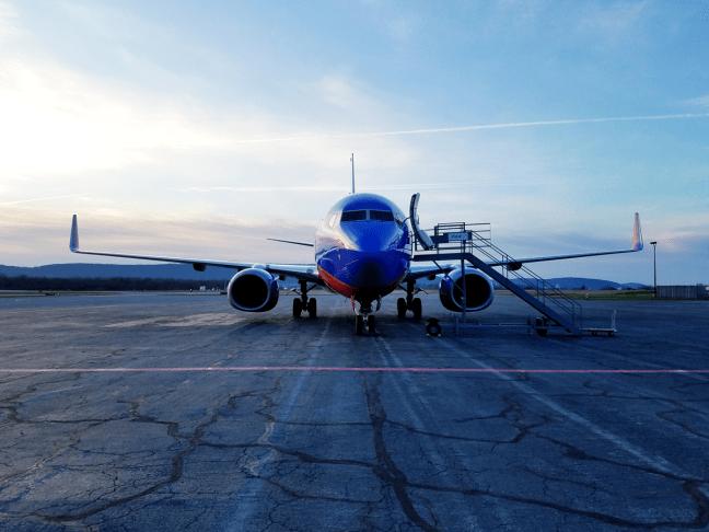 Southwest 737 airplane