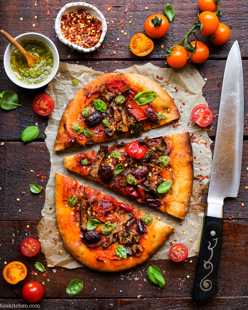 tesco wicked healthy pizza