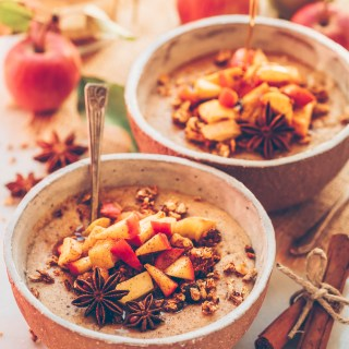 apple oatmeal vegan