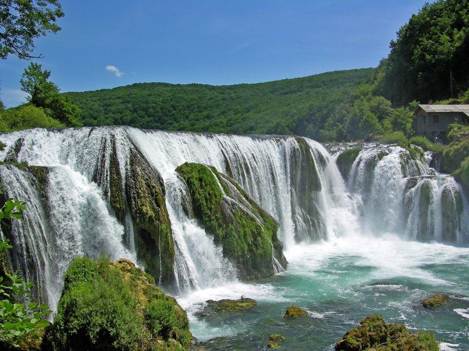 Una river in Bihac (strbacki buk)