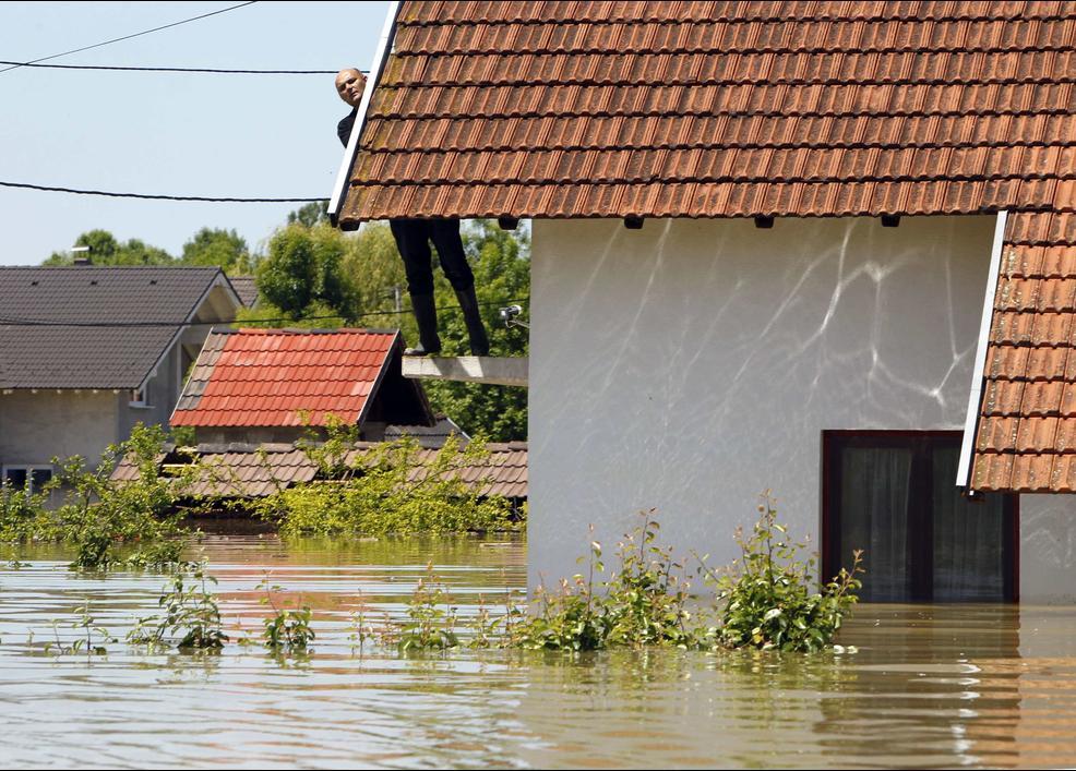 Bosna Hersek - Sel Felaketi