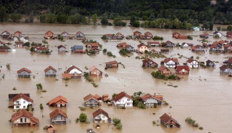 Bosna Hersek'te Su Felaketi