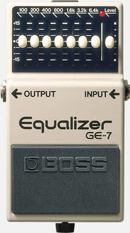 BOSS Equializer GE-7