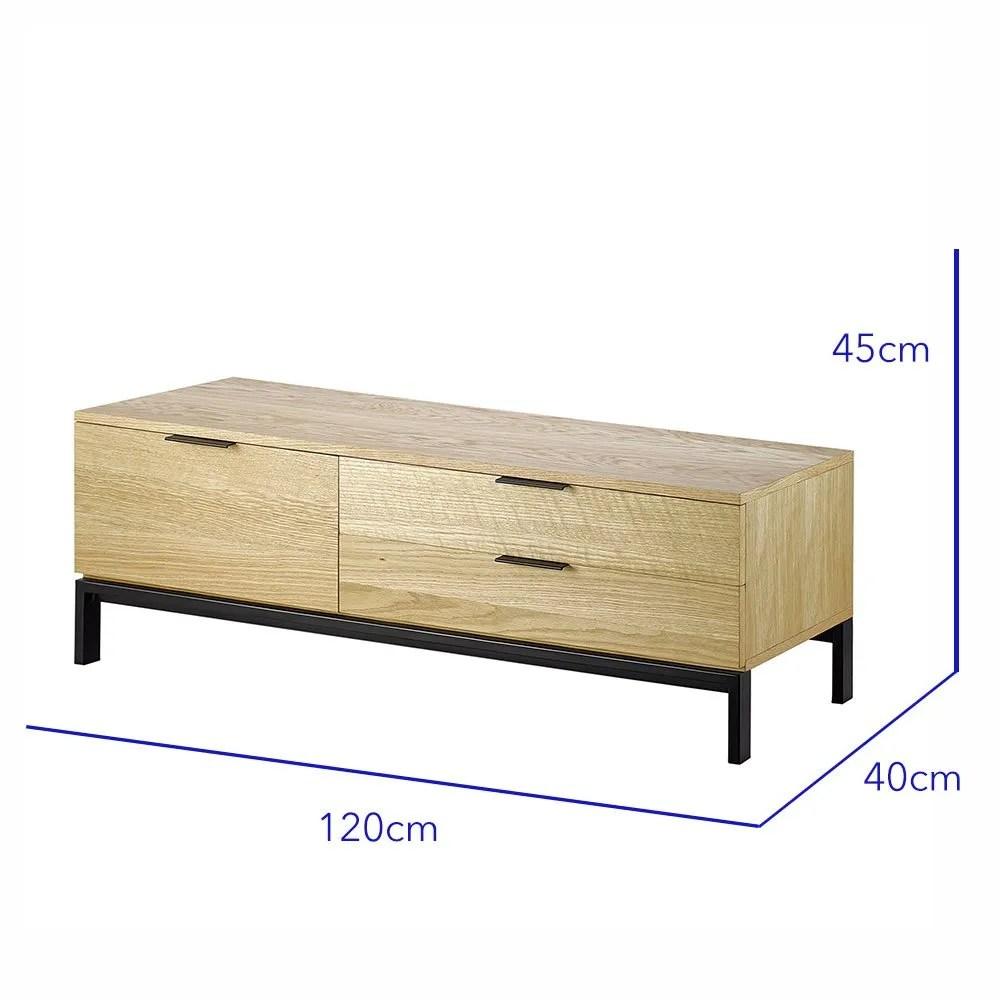 mesa de tv marc roble 2