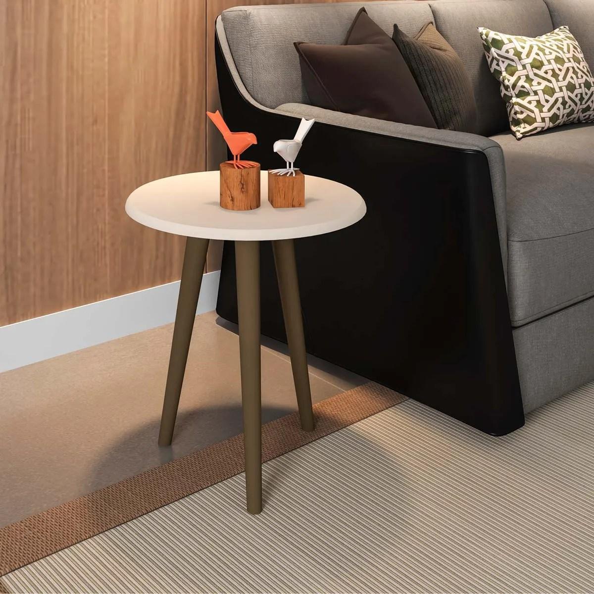 mesa lateral brillante off white 2