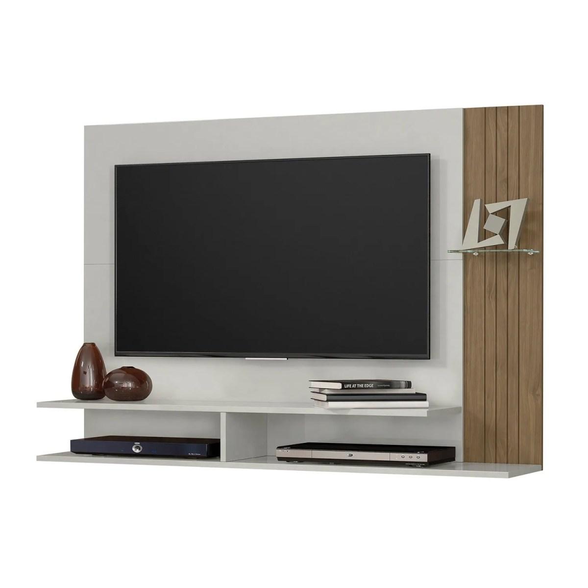 panel para tv ipe avellana 1