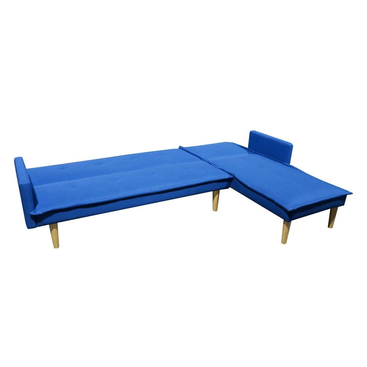 sala esquinada sofá cama independencia azul 6