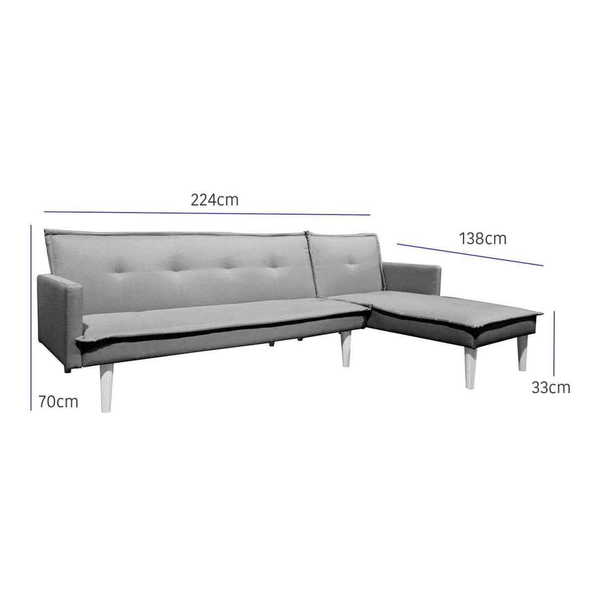 sala esquinada sofá cama independencia gris 9