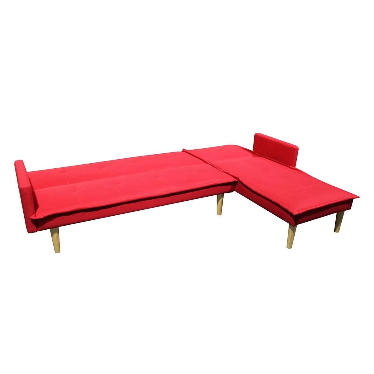 sala esquinada sofá cama independencia rojo 6