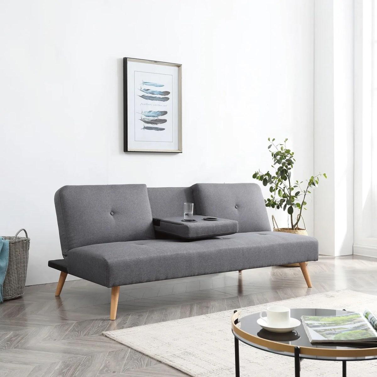 sofacama reclinable individual portavasos bossa hobbs 4