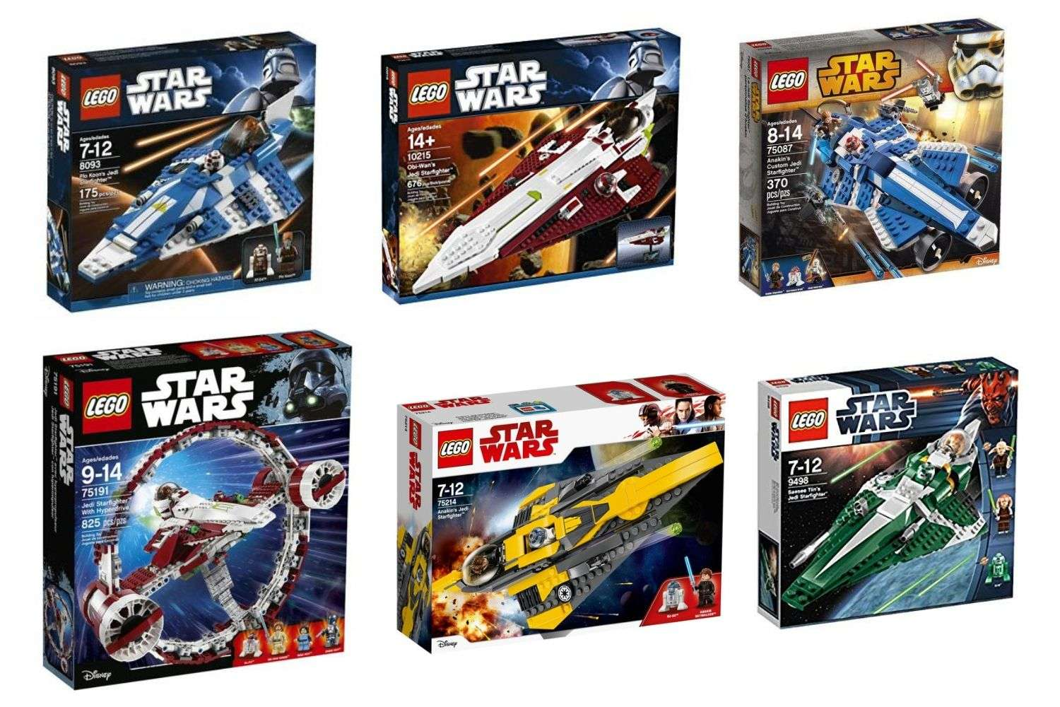 Which Is The Best Lego Star Wars Jedi Starfighter Set
