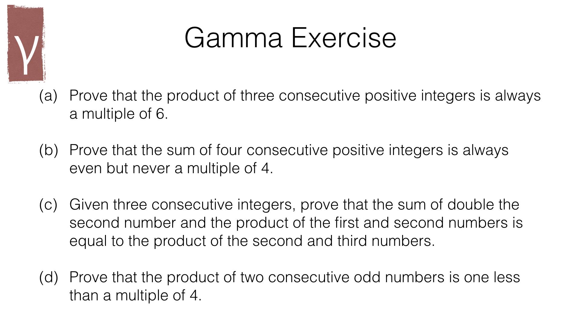 A6b Using Algebra To Construct Proofs Bossmaths