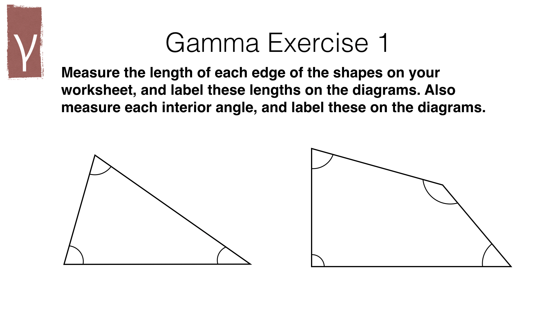 G15a Measuring Line Segments And Angles In Geometric