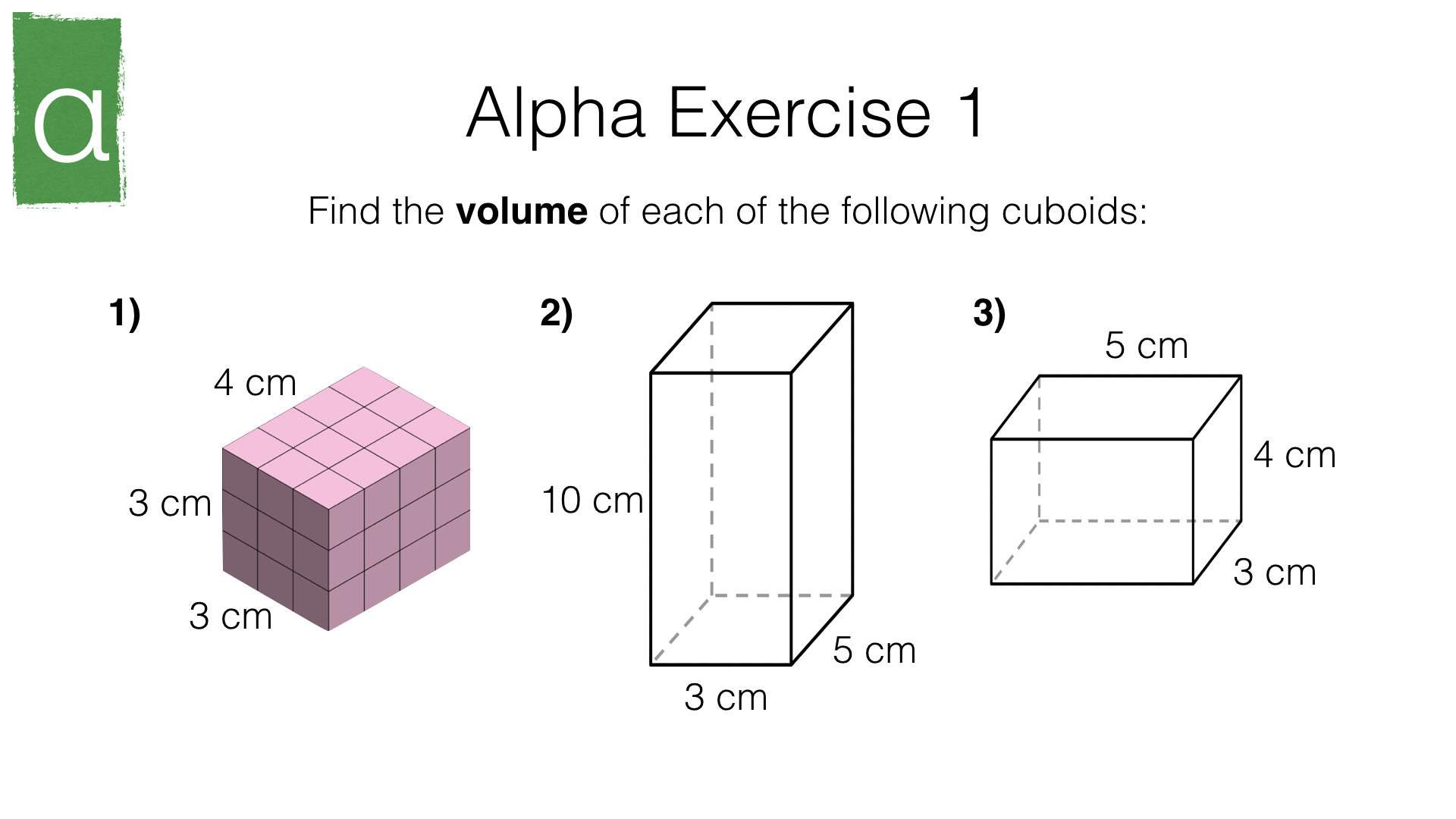 G16e Volume Of Cuboids Prisms And Cylinders