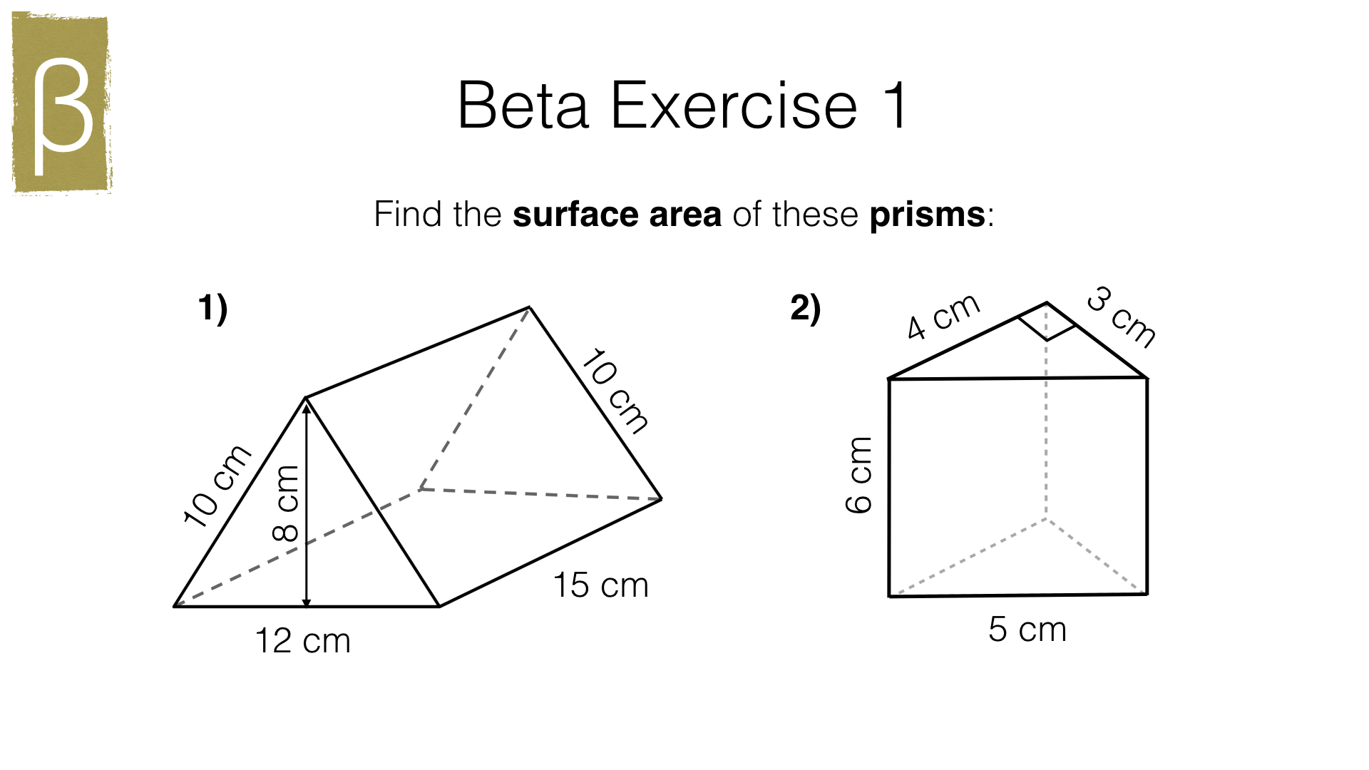 G17f Surface Area Of Cuboids Prisms And Pyramids