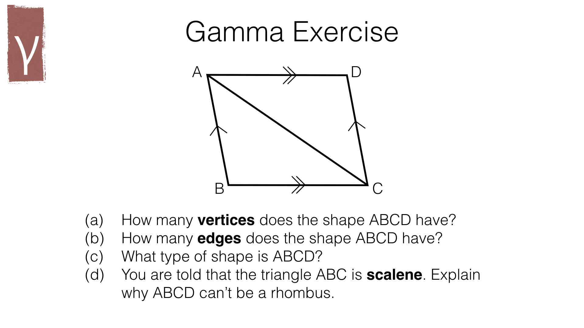 G1a 2d Geometry Terms And Notation Bossmaths