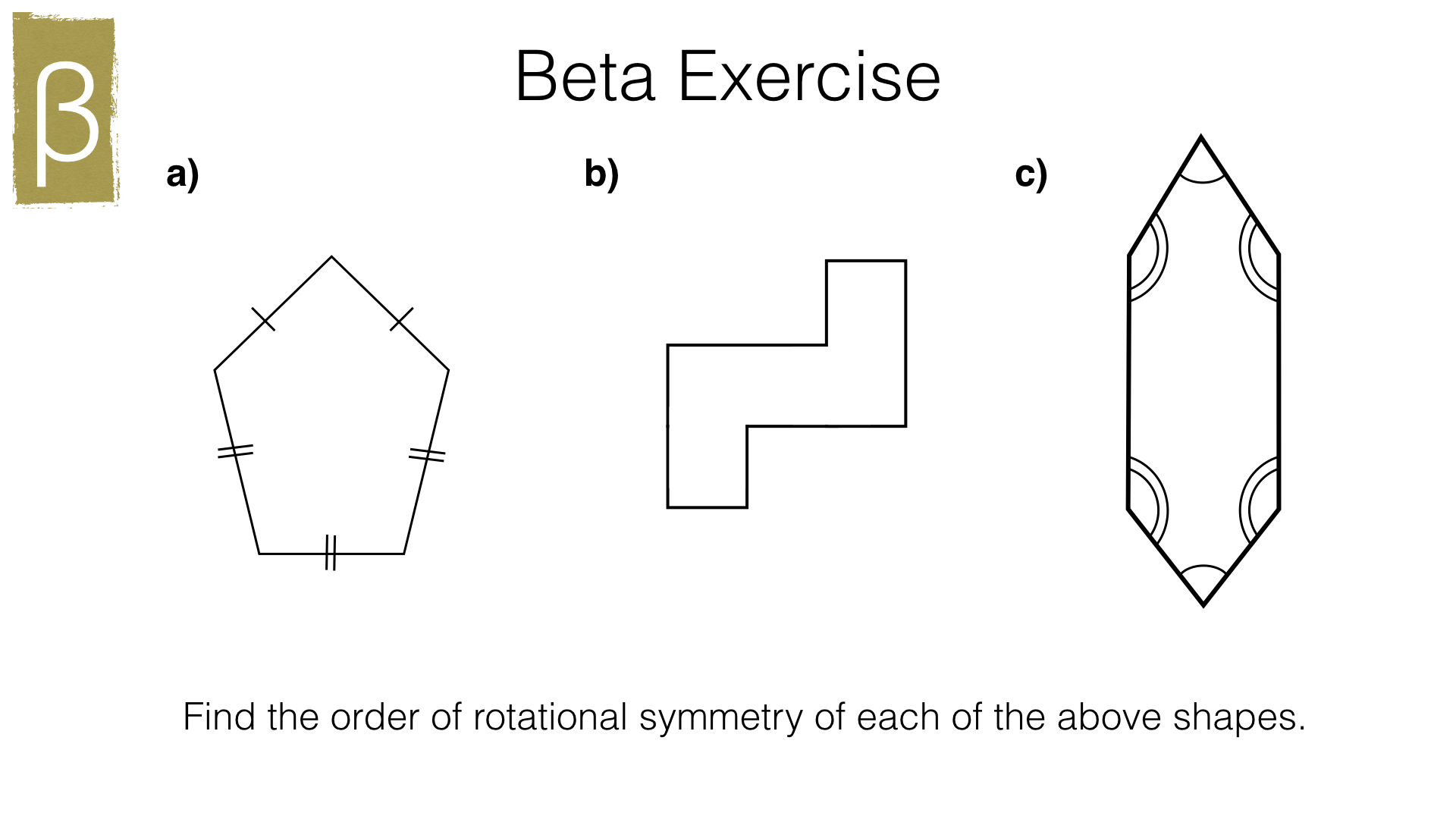 G1d Rotation Symmetry Bossmaths