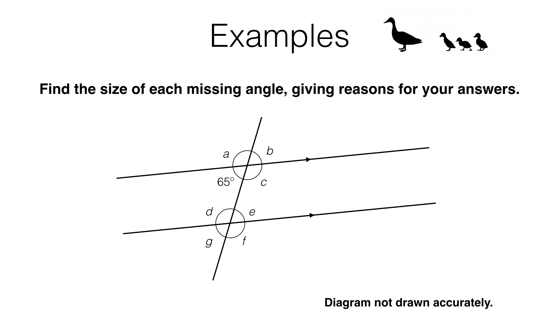 G3b Alternate And Corresponding Angles On Parallel Lines Bossmaths
