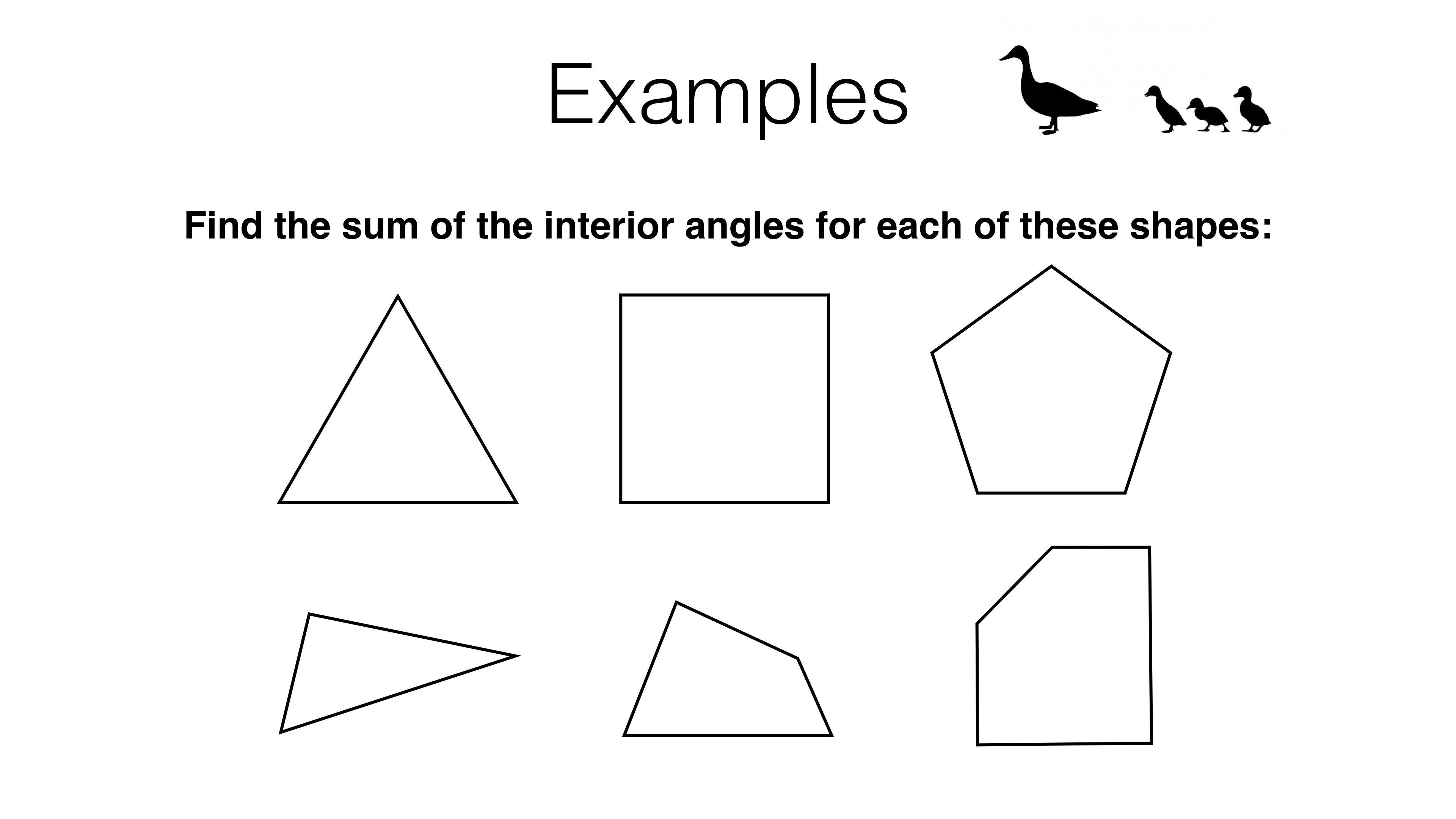 G3c The Sum Of Angles In A Triangle And The Angle Properties Of Polygons Bossmaths