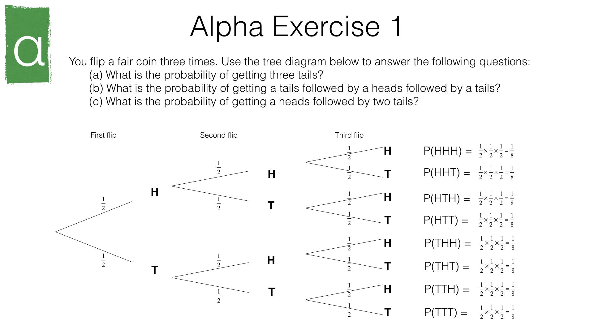 P8a Tree Diagrams Bossmaths