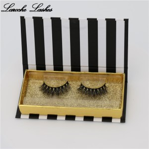 Wholesale 3d Faux Mink Eye Lashes And Eyelashes Custom Package Box