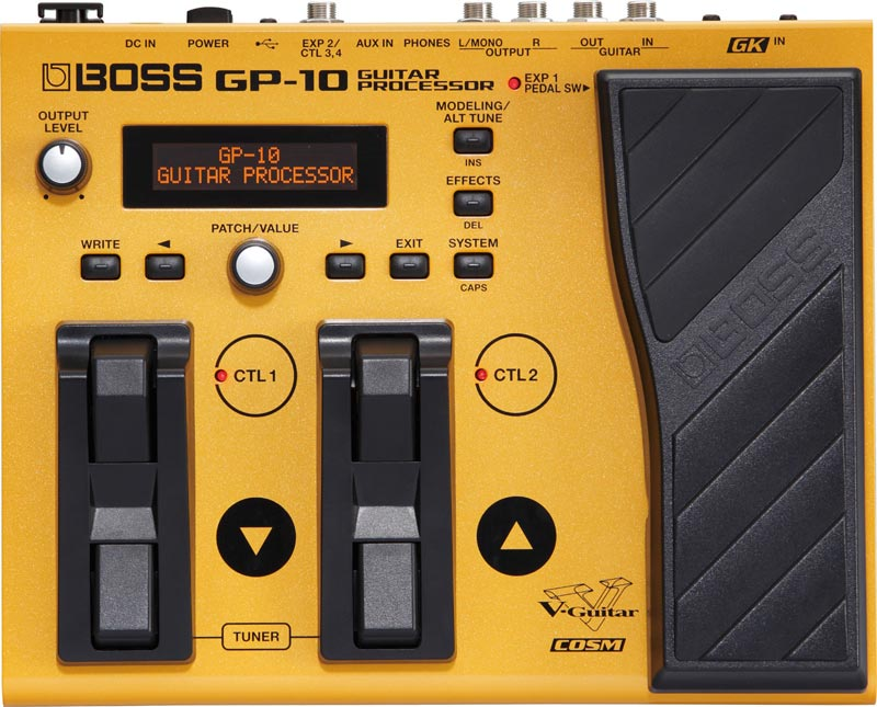 BOSS GP-10 Guitar Effects Processor