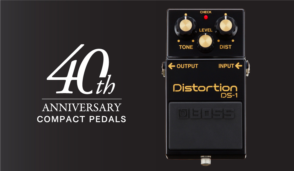 BOSS Compact Pedal 40th Anniversary