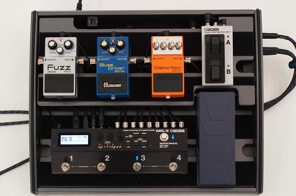 Introducing the BOSS MS-3 Multi Effects Switcher - BOSS U S  Blog