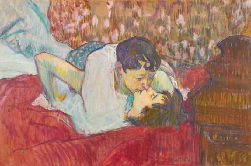 Il semplice superiore a tutto: il lesbismo nell'Arte dell'Ottocento. - Bossy
