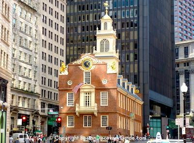 Boston Massacre Freedom Trail Site Boston Discovery Guide