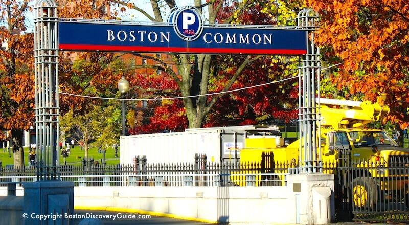 Boston Common Garage How To Get Cheap Rates Boston