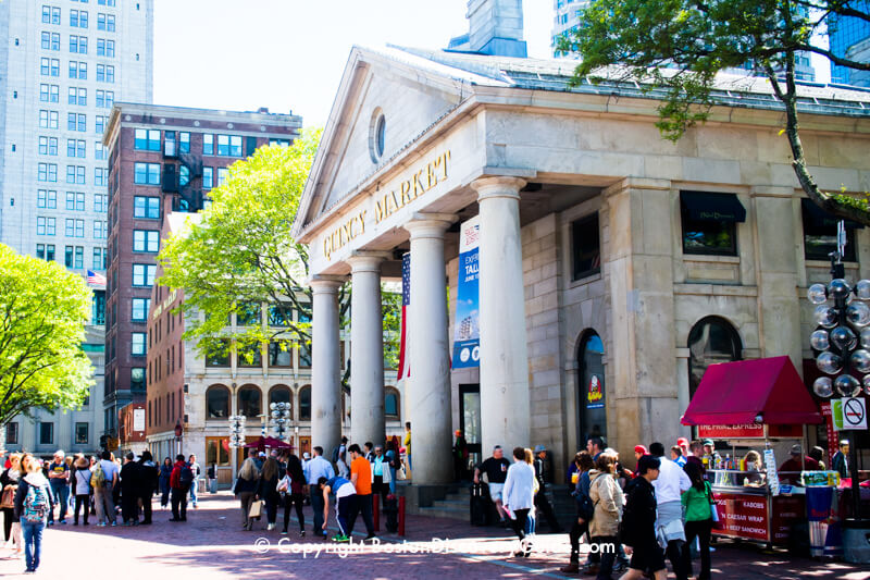 Quincy Market Faneuil Hall Building