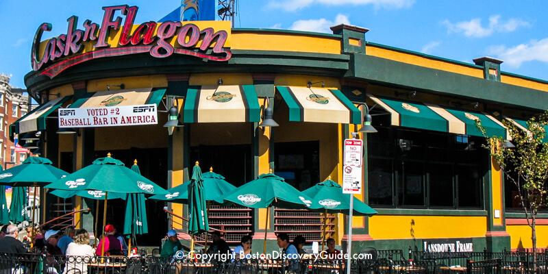 Best Boston Bars Near Fenway Park Red Sox Sports Bars