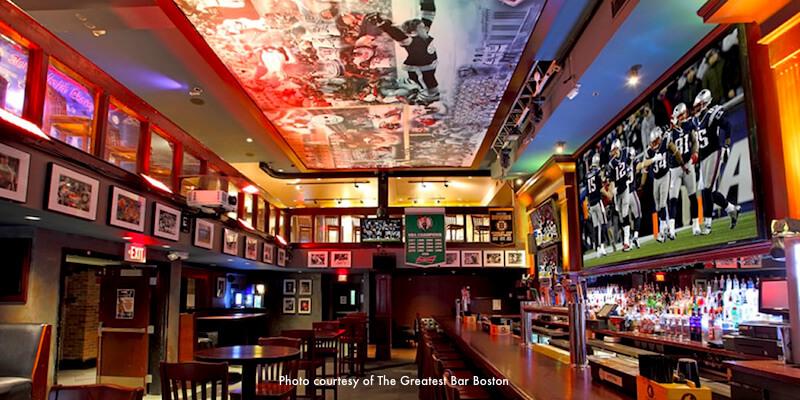 Boston Bars Near TD Garden Bruins And Celtics Bars