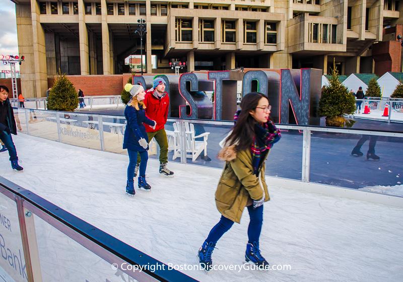 Christmas Activities Boston