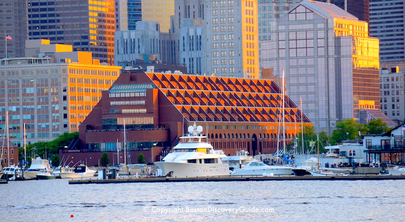 Boston Waterfront Hotels Boston Discovery Guide