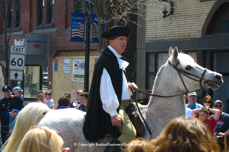 Patriots Day Schedule 2018 Reenactments Parades Events