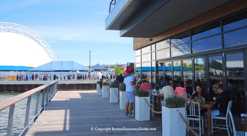 Seaport Restaurants South Boston Waterfront Where To Eat