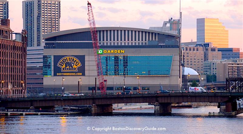 TD Garden Boston Sports And Entertainment Arena