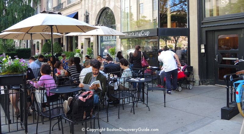 Outdoor Dining In Back Bay Boston Patio Restaurants Boston Discovery Guide