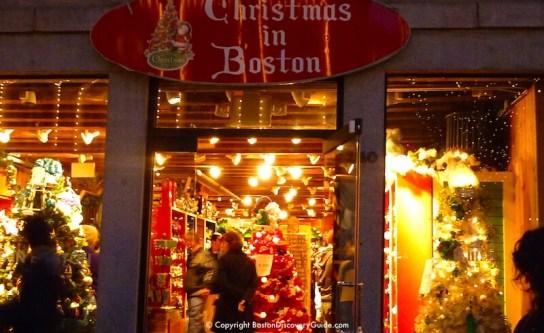 Image result for Boston, USA christmas