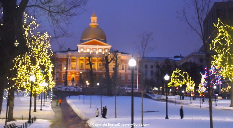 Christmas Activities In Boston