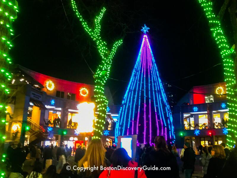 boston christmas tree lighting events