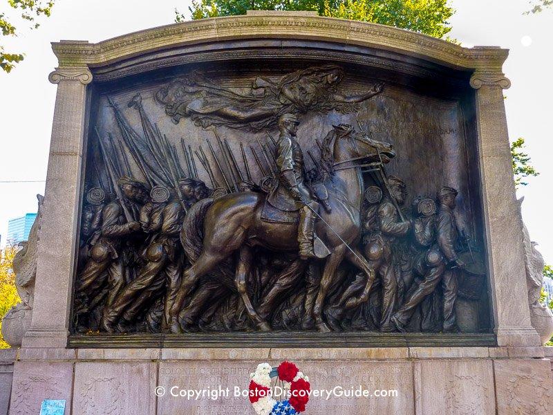 Robert Gould Shaw Statue Boston