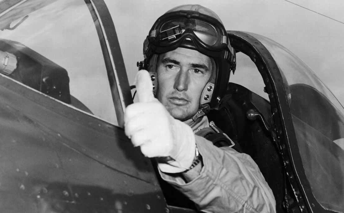 Image result for ted williams fighter pilot