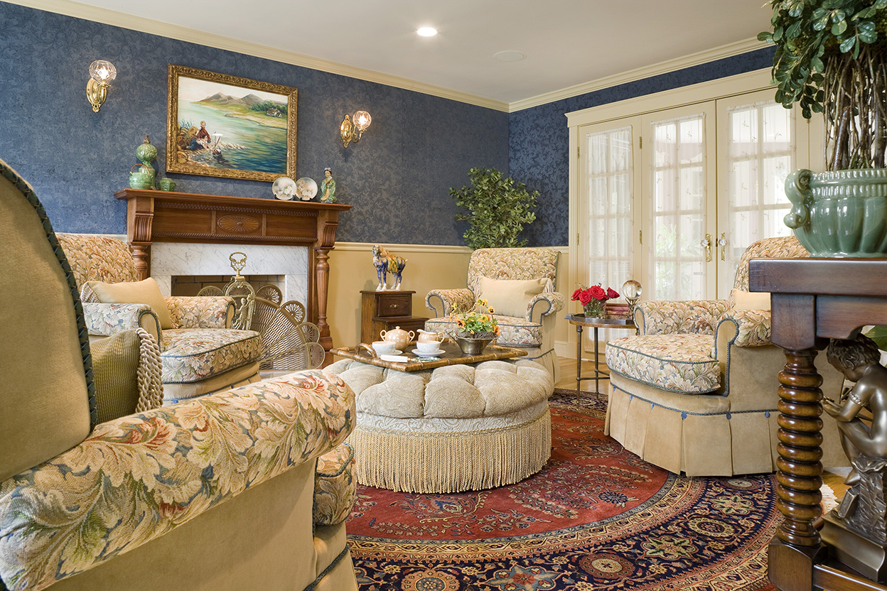 Traditional English Living Room Gallery