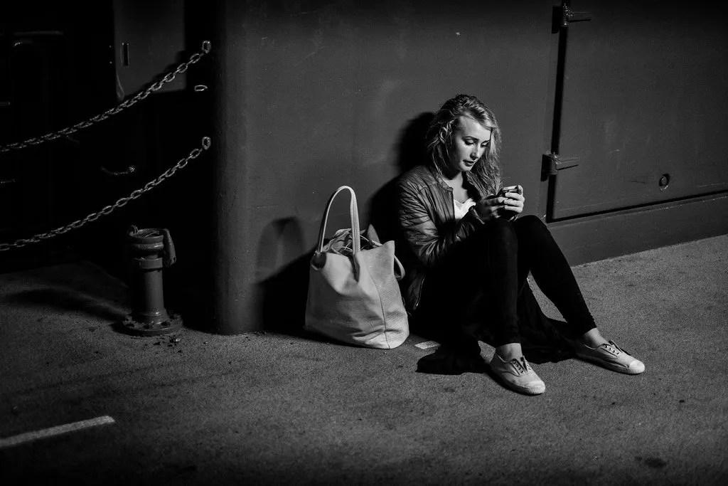 Teenage solitude