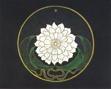 Jung Golden Flower Mandala