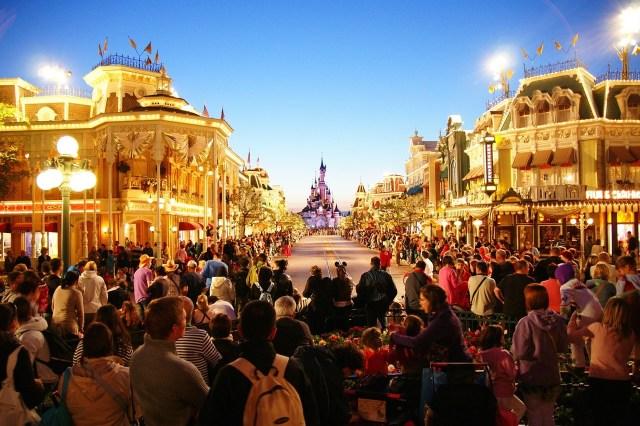 Disneyland entertainment