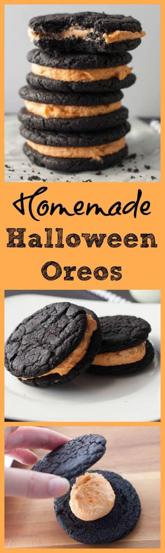 Halloween Homemade Oreo Cookie Recipe - Boston Girl Bakes